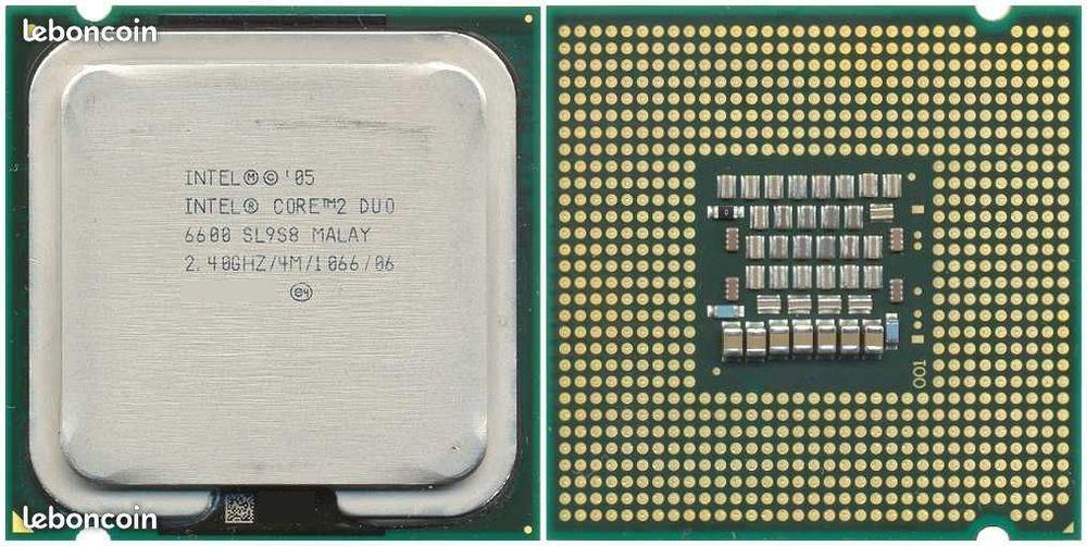 Processeurs Intel core 2 duo - 775 8 Beauchamp (95)