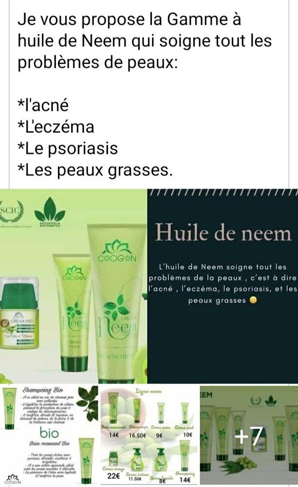 produits de la Gamme neem 100%bio. 1 Boulay-Moselle (57)