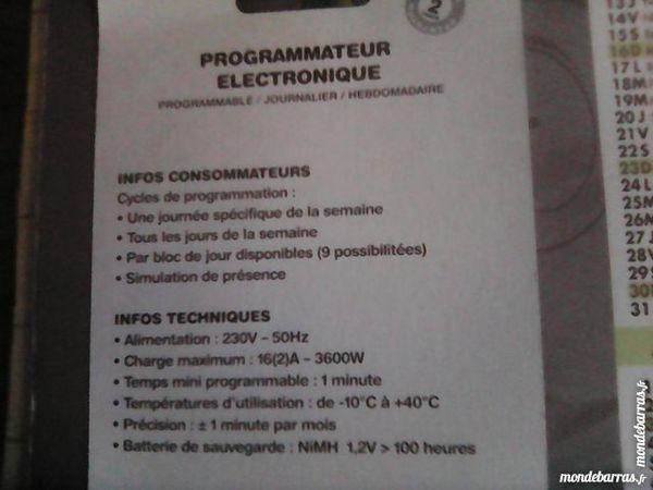 programmateur électronique 5 Noyelles-lès-Vermelles (62)