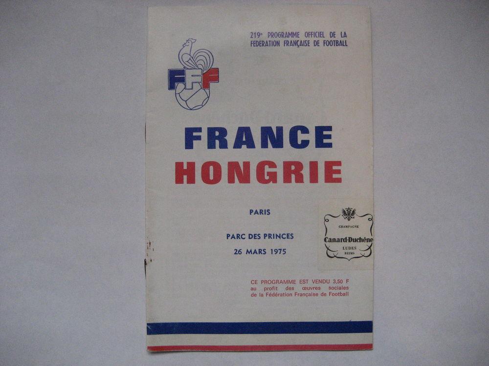 Programme Officiel F F FOOTBALL n°219 - 1975