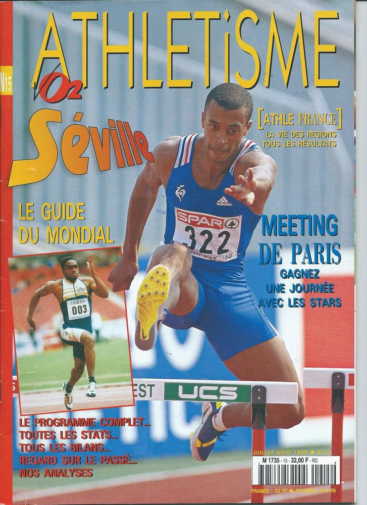 Programmes de Meetings d'Athlétisme  0 Mulhouse (68)