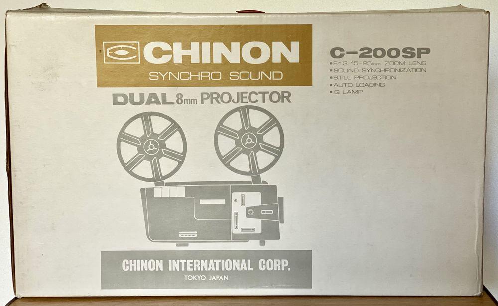 Projecteur CHINON dual 8 mm C 200 SP 80 Joué-lès-Tours (37)