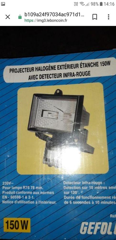 Projecteur halogène  20 Mondelange (57)