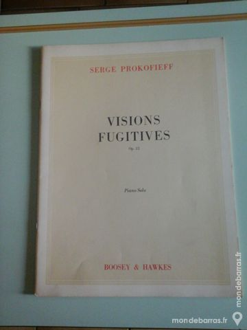 PROKOFIEFF Visions fugitives + 6 morceaux 7 Albi (81)