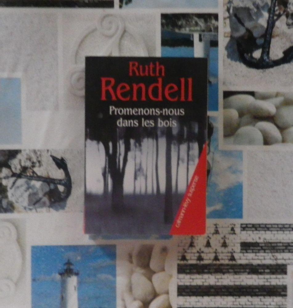 PROMENONS-NOUS DANS LES BOIS de Ruth RENDELL Ed Calmann-Levy 5 Bubry (56)