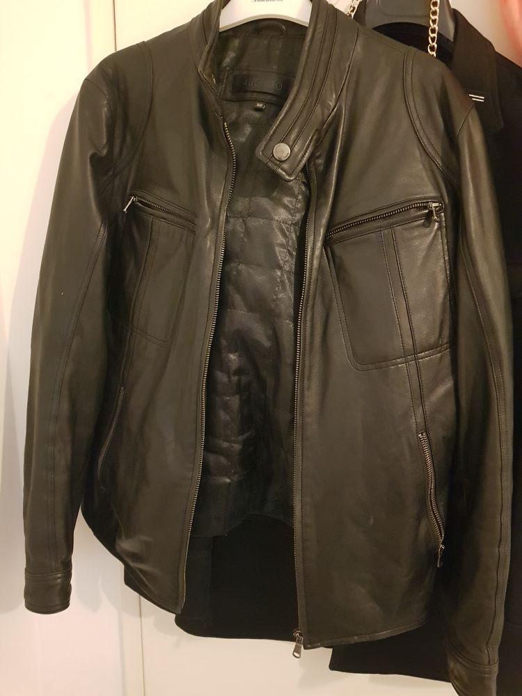 Propose veste homme en cuir Giorgio prix à débattre  600 Versailles (78)
