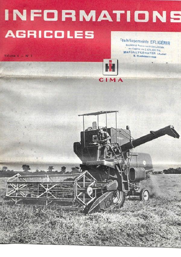 Prospectus agricole Mac CORMICK INFORMATIONS 0 Lafrançaise (82)