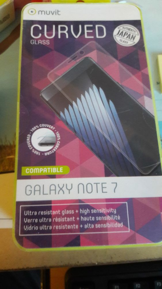 Protection d'écran - pour Samsung Galaxy note 7 10 Mouguerre (64)