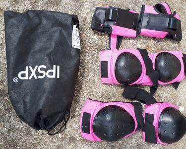 Protections fille pour utilisation patin à roulette Taille M 10 Subligny (18)
