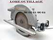 PROTOOL CSP 165 E  - Scie circulaire de charpente