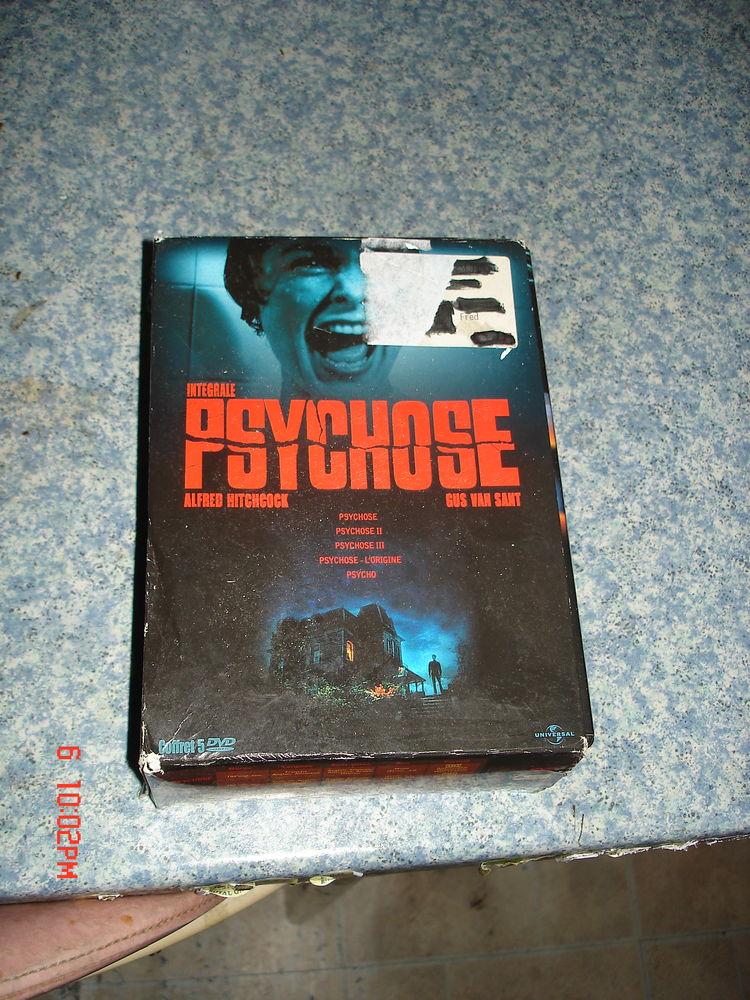 psychose, coffret 5 dvd 28 Montigny-lès-Metz (57)