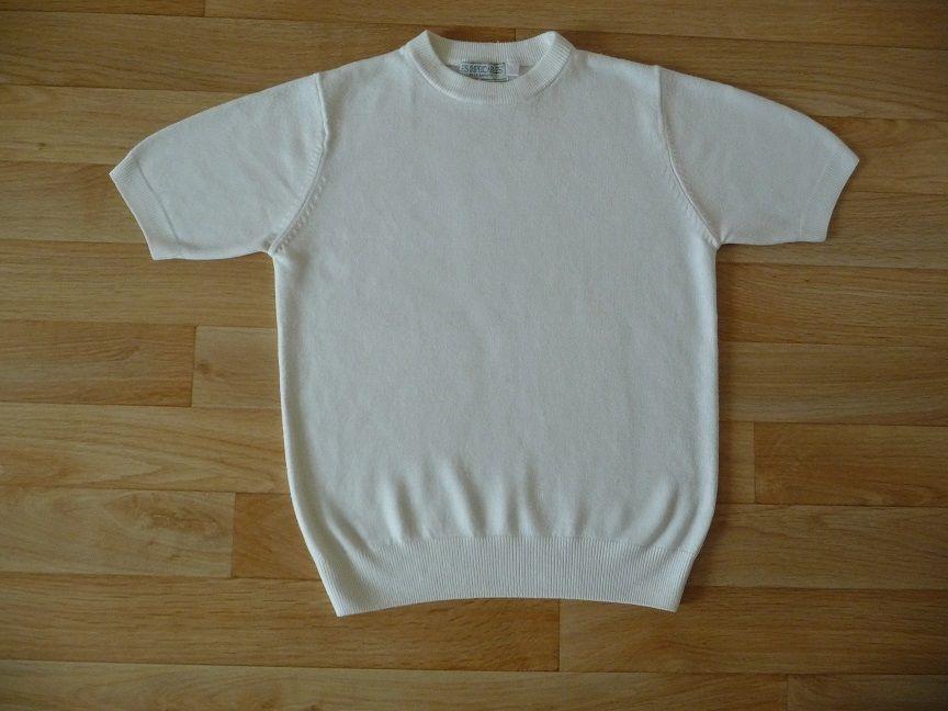 Pull blanc ivoire manches courtes taille 36-38 10 Montigny-le-Bretonneux (78)