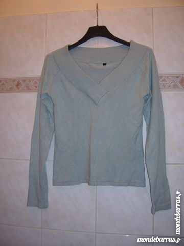 Pull bleu clair, Taille S 8 Gentilly (94)