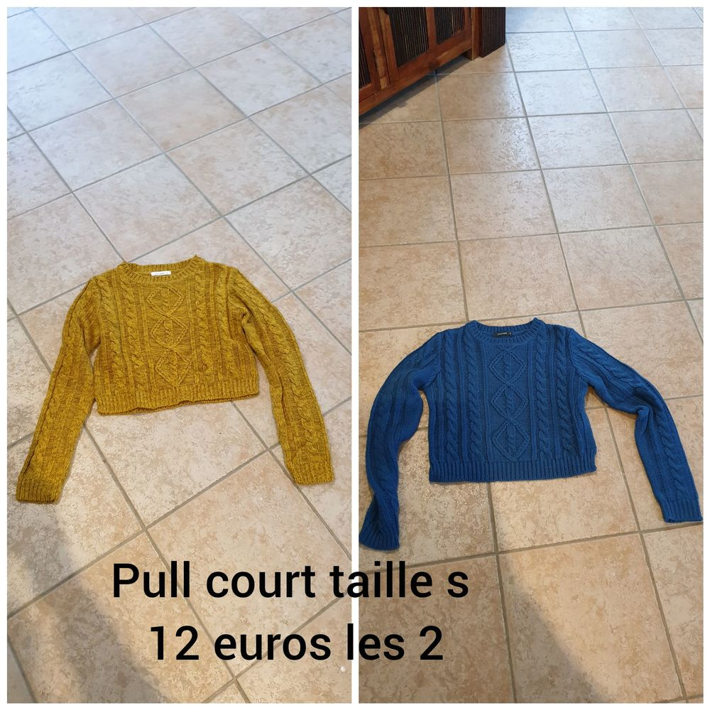pull court Vêtements