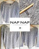 Pull fin fantaisie NAF NAF M 25 Marcq-en-Barœul (59)
