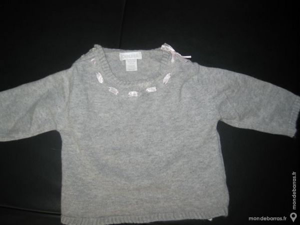 pull fille «obaibi» 3 mois 1 Carvin (62)