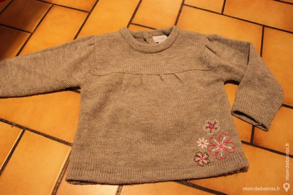 Pull gris tex baby 18 mois 4 Wervicq-Sud (59)