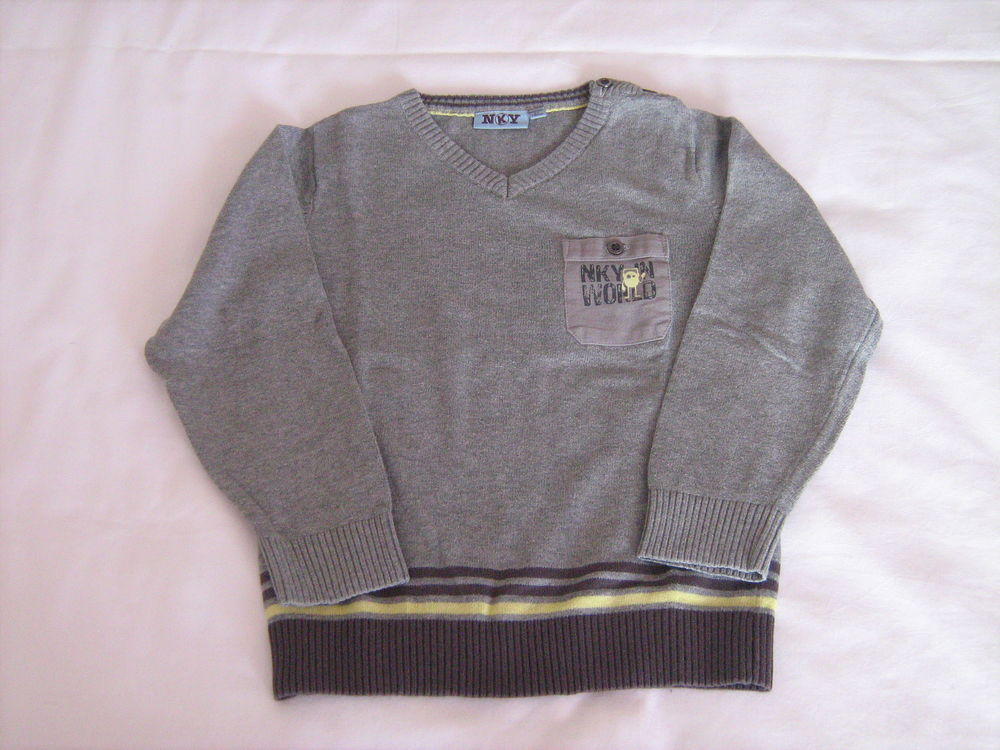 Pull gris clair 4 Cannes (06)