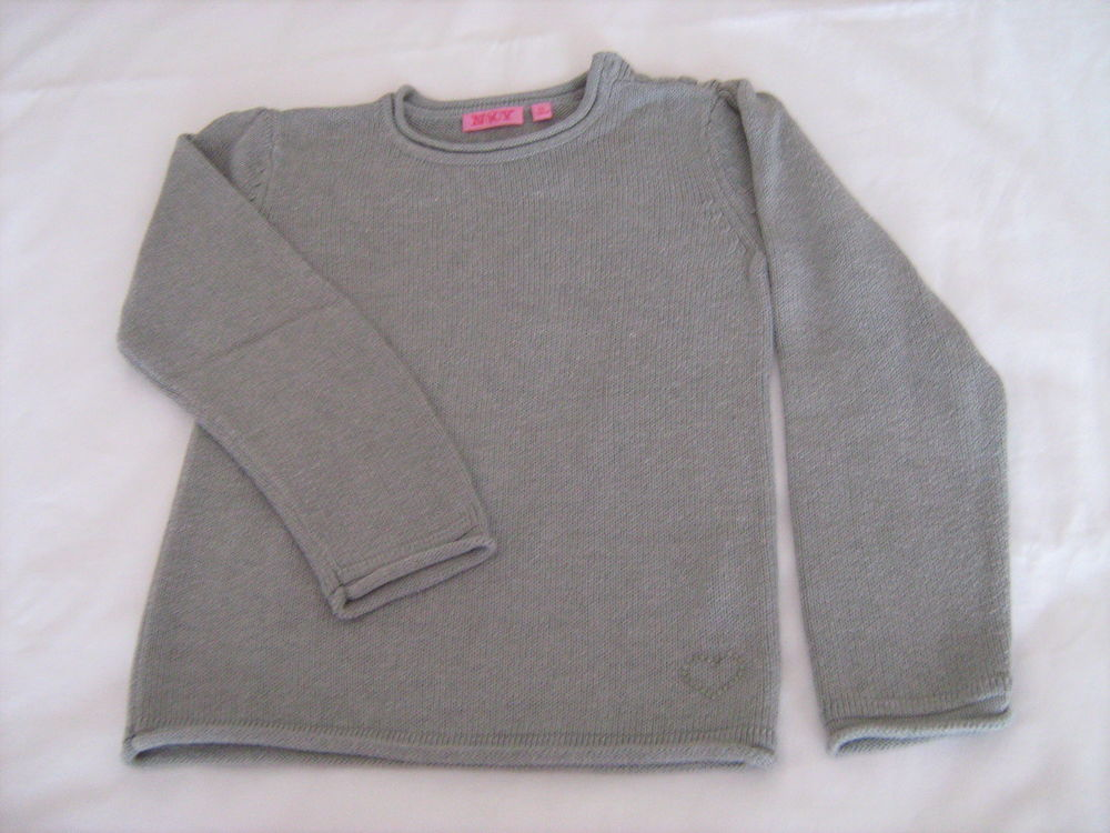 Pull gris clair strass 4 Cannes (06)