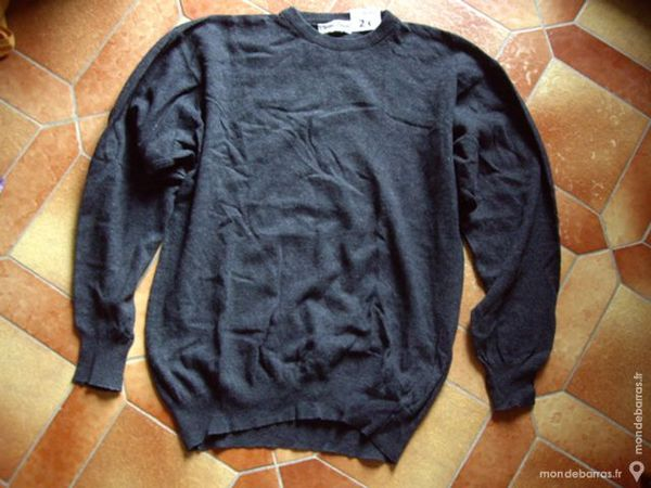 PULL Gris Homme Taille M 2 Bouxwiller (67)