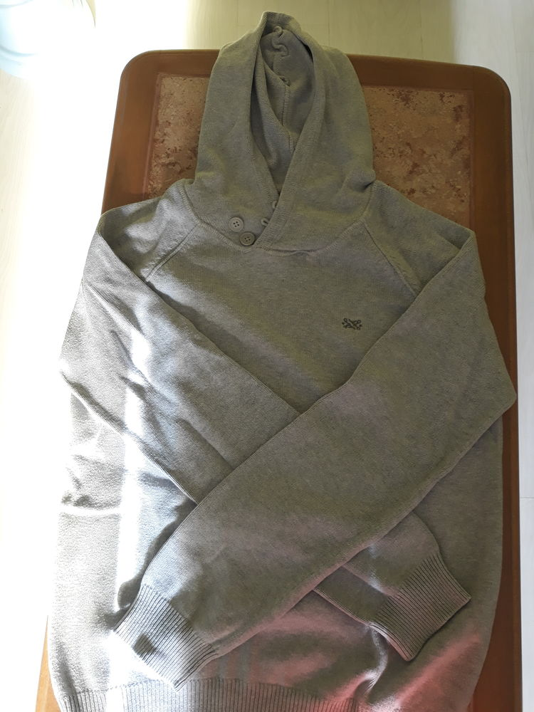 pull gris 7 Beauquesne (80)