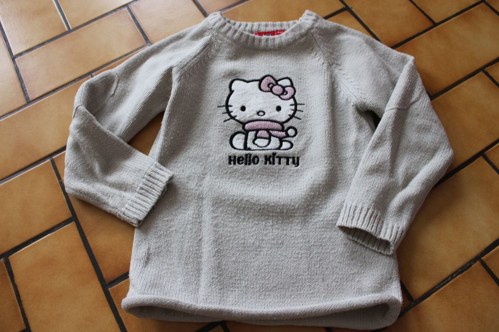 Pull hello kitty gris 6 ans 3 Wervicq-Sud (59)