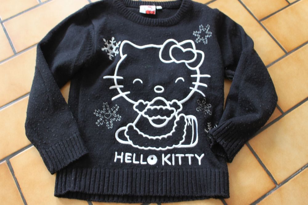 Pull hello kitty noir 6 ans 5 Wervicq-Sud (59)