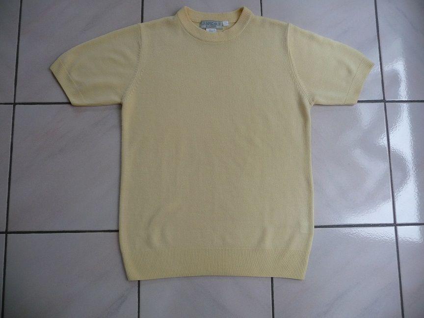 Pull jaune doux manches courtes taille 36-38 10 Montigny-le-Bretonneux (78)