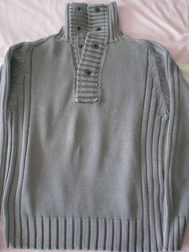 pull JULES gris taille M 10 Châtenay-Malabry (92)