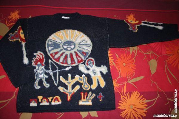 Pull laine épais 12 / 14 ans Ado Garçon MIROTON Vêtements enfants