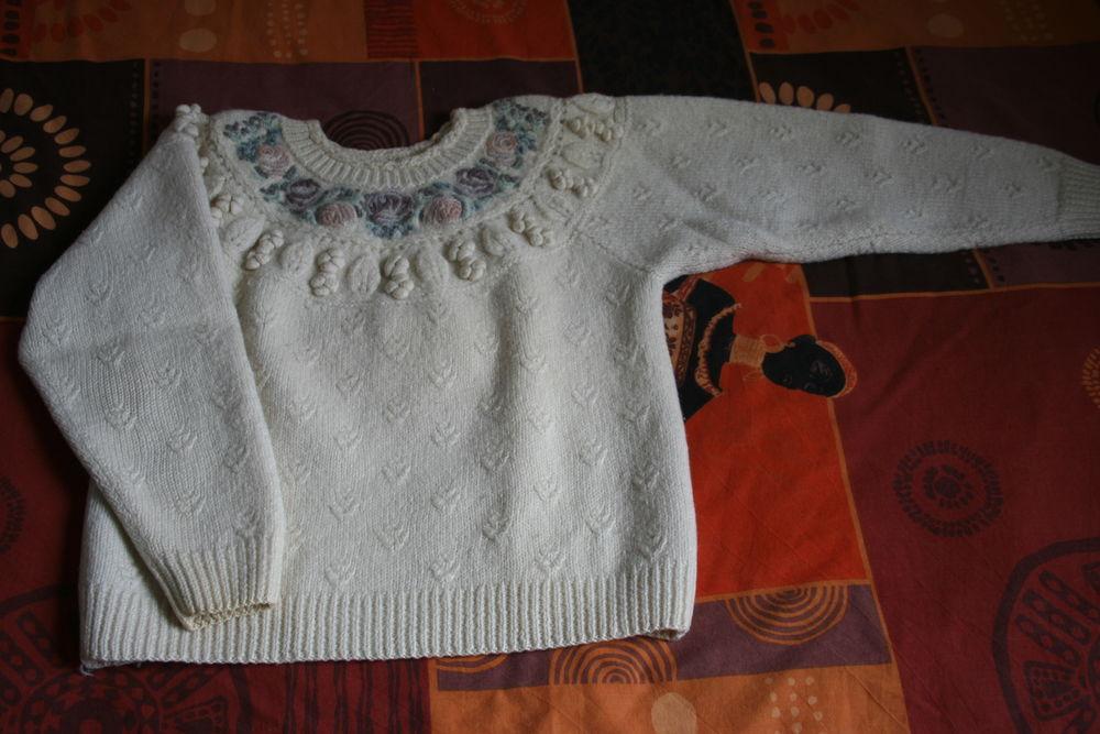 Pull laine épais fantaisie Femme 38 MIROTON 8 Tournefeuille (31)