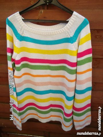 pull multicolore t.42/44 2 Chambly (60)