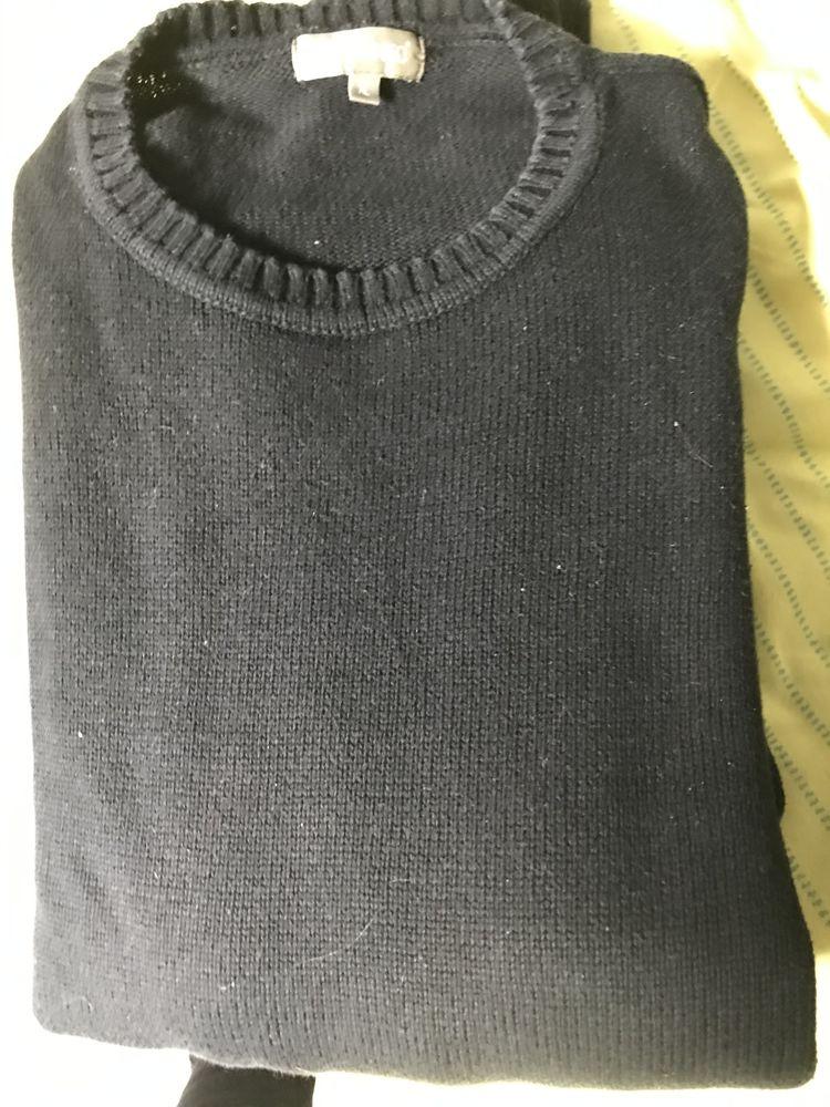 PULL NOIR COTON Taille XL Vêtements