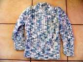 pull  okaidi  8 ans rose bleu blanc dore  4 Viriat (01)