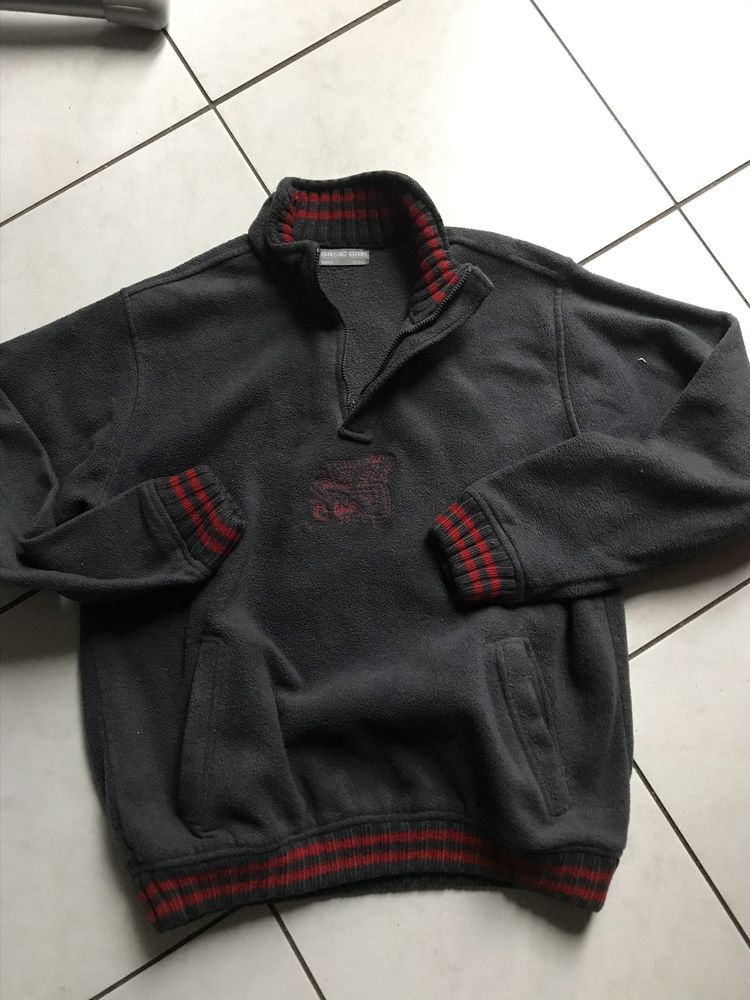 pull polaire gris BASIC ONE  14 ANS 7 Saint-Genis-Laval (69)