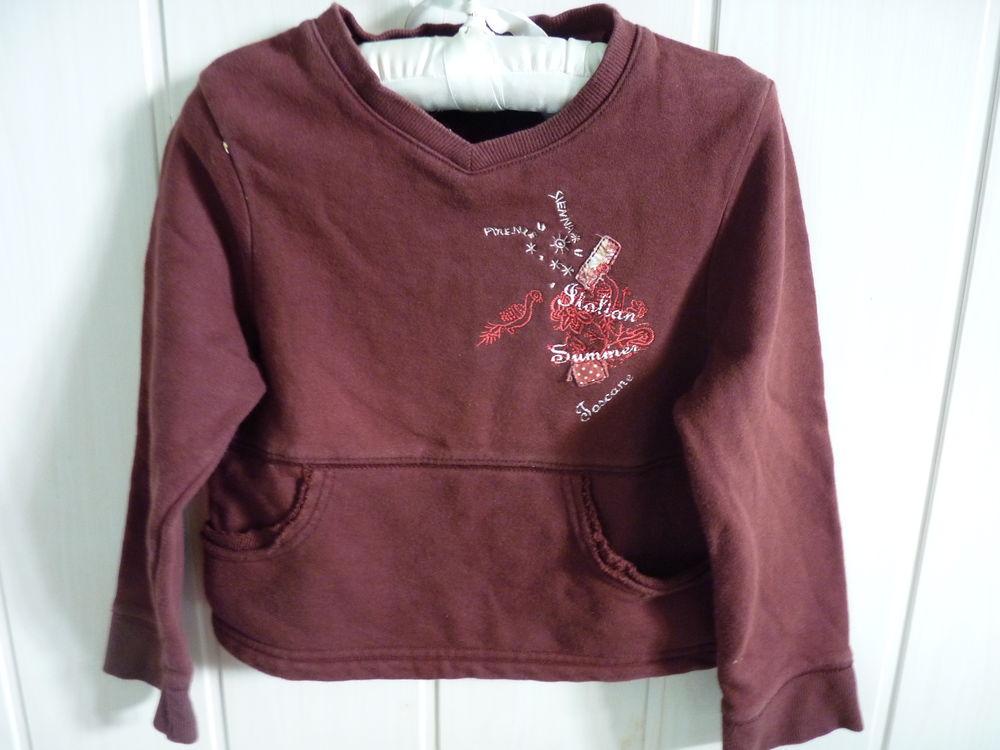 pull rouge fille Petit boy 5/6 ans TBE 2 Brienne-le-Château (10)
