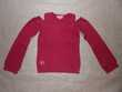 Pull rouge Shiny en taille 8 ans
