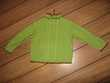 Pull vert en laine fait main 6 Ans Fille Vêtements enfants