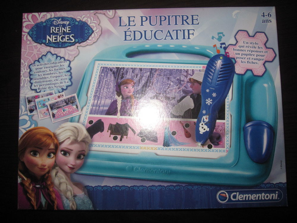 Pupitre éducatif la reine des neiges 5 Saint-Jean-Pla-de-Corts (66)