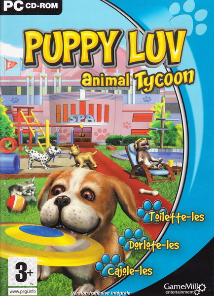 CD Jeu PC Puppy Luv animal Tycoon NEUF blister 3 Aubin (12)
