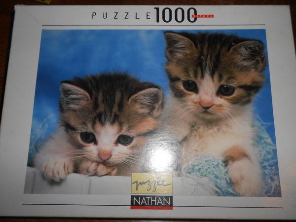 Puzzle 1000 pièces Chatons 10 Montévrain (77)