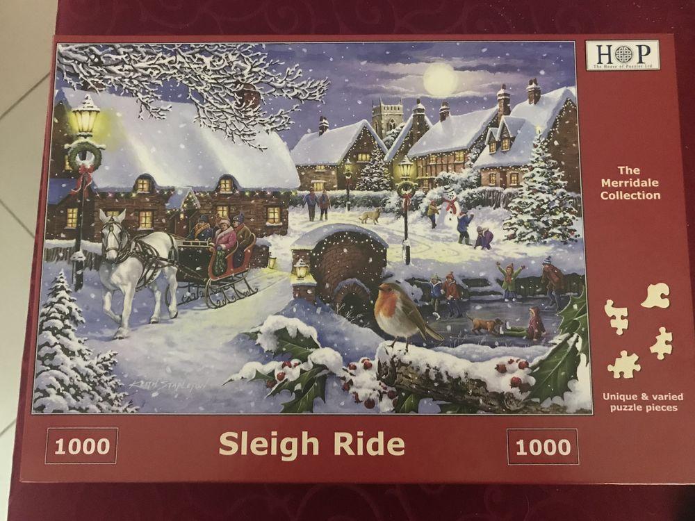Puzzle de 1000 pièces sur le thème de Noël 12 Grande-Synthe (59)