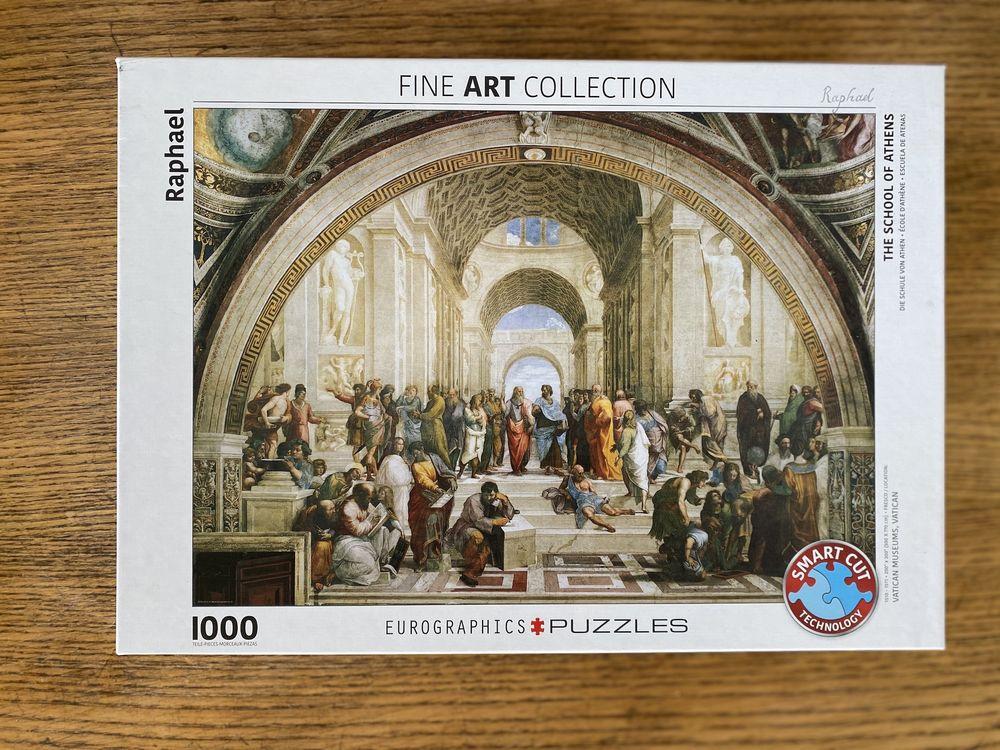PUZZLE 1000 PIÈCES : FINE ART COLLECTION / L'ÉCOLE D'ATHÈNES 20 Paris 11 (75)