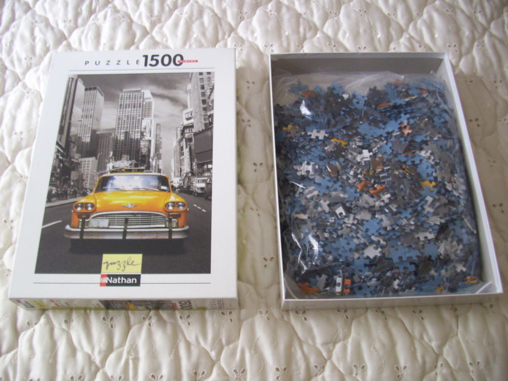 puzzle 1500 pièces 5 Saint-Corneille (72)