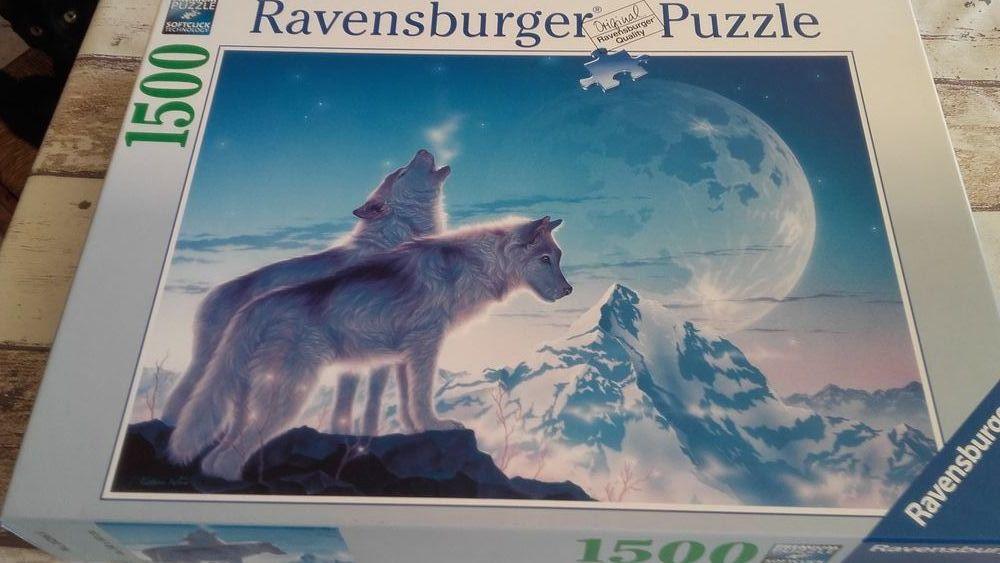 Puzzle 1500 pièces le chant des loups ravensburger 15 Montfort (04)