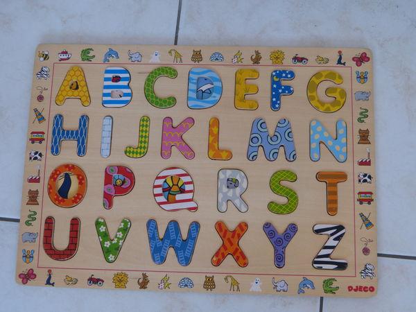 Puzzle abecedaire en bois DJECO 5 Marseille 2 (13)
