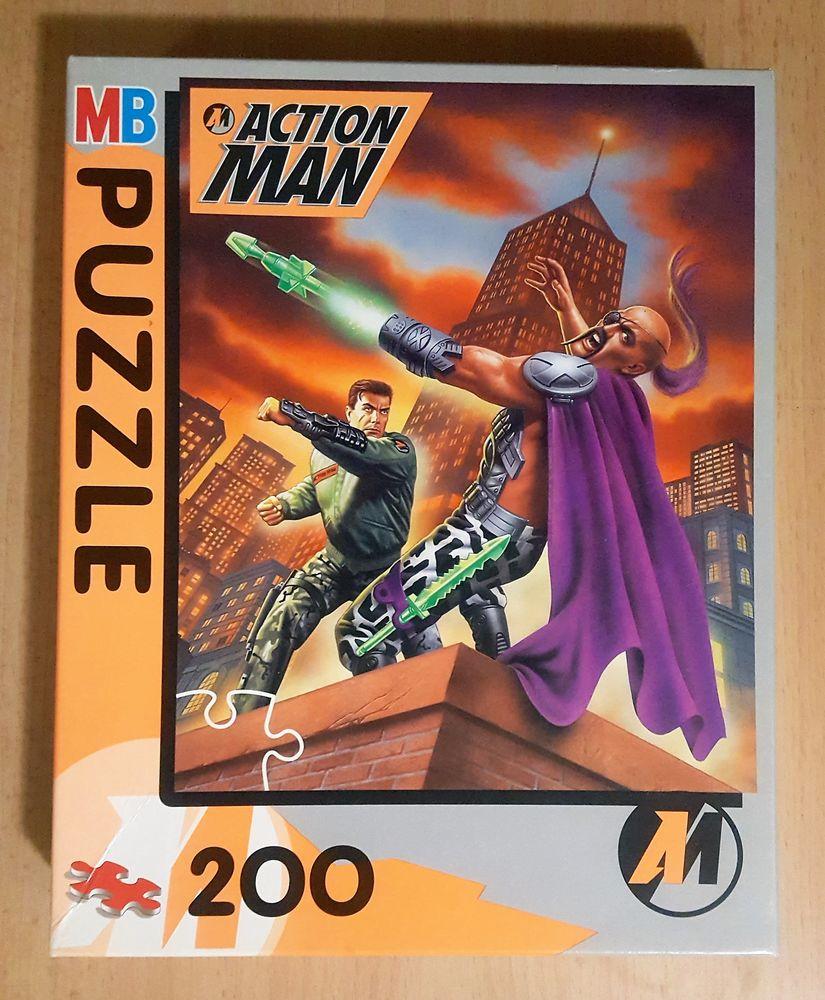 PUZZLE ACTION MAN 200 pièces - complet et neuf 7 Saint-Georges-lès-Baillargeaux (86)