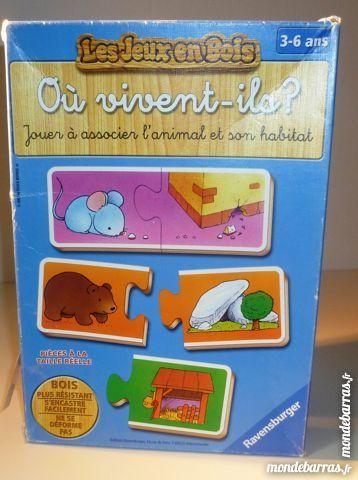 Puzzle animal et habitat 4 Paris 9 (75)