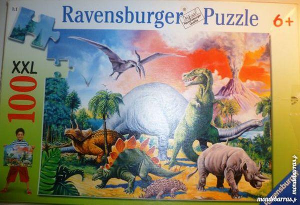 Puzzle animaux préhistoriques 5 Paris 9 (75)