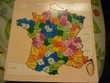 Puzzle bois, carte de France Jeux / jouets
